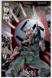 ZEALOT #3, NM-, Terry Shoemaker, Femme Fatale,Good girl, more in store