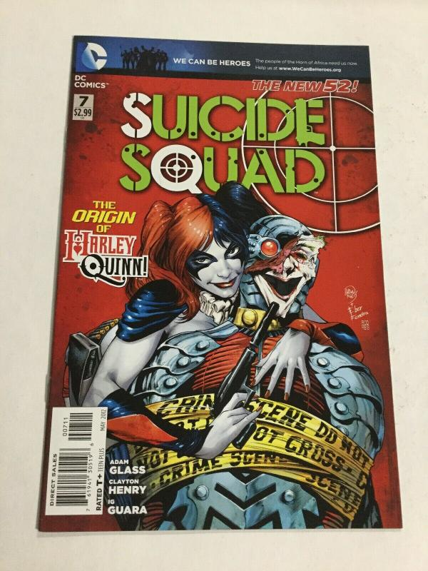 Suicide Squad 7 Nm Near Mint DC Comics New 52