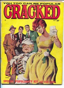 Cracked Magazine #20 1961-Major-Sinatra rat pack cover-John Severin-Vic Marti...