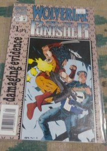 WOLVERINE AND THE PUNISHER #1  2008   MARVEL DAMAGING EVIDENCE