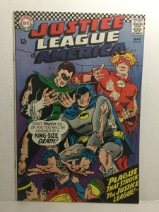Justice League Of America 44 Vg Very Good 4.0 Subscription Fold DC Comics