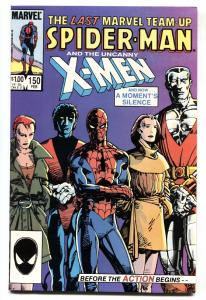 Marvel Team-up #150 comic book X-Men Spider-man last issue
