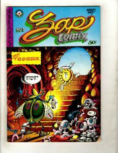 Zap Comix # 3 FN Apex Novelty Indy Underground Comic Book Robert Crumb GK4