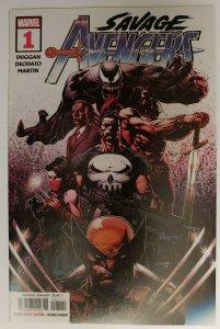 SAVAGE AVENGERS #1 1ST PRINT DAVID FINCH COVER A  Marvel 2019 NM! Venom, Conan +
