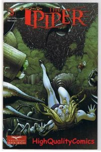 The PIPER #3, NM+, Grimm fairy tales, Scorpions, 2008, more GFT in store