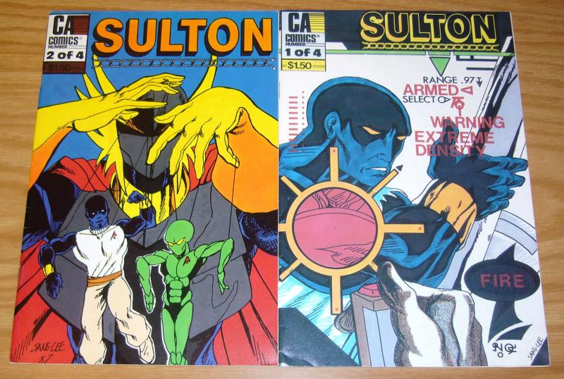 Sulton #1-2 FN complete series - sang lee - CA comics set lot 1987 indy