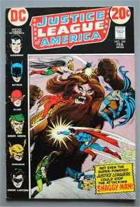 Justice League of America 104 (1960 1st Series) F/Better    See Actual Photo