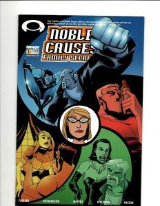 10 Noble Causes Comics 1, 1, Secrets 1 2B 2b 3a 3B 4 4A, Extended Family 1 J344
