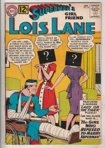 Lois Lane, Superman's Girlfriend  #38 (Jan-63) VF+ High-Grade Superman, Lois ...