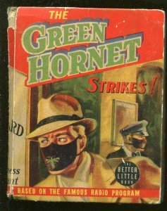 Green Hornet Strikes #1453 1940-Whitman-Fran Striker-radio series-VG