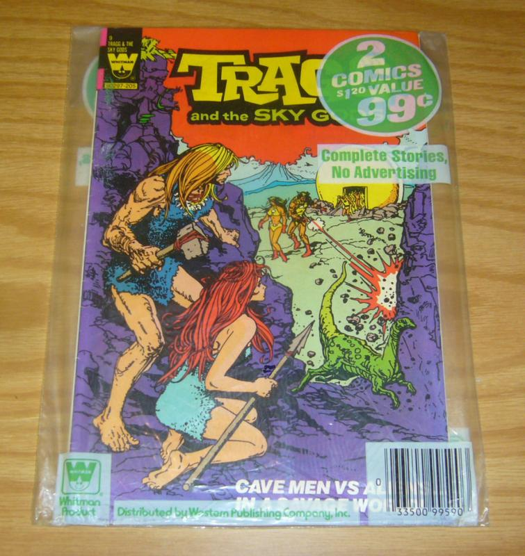 Whitman Pack: Tragg #9 & Brothers of the Spear #18 - sealed in polybag 1982 set
