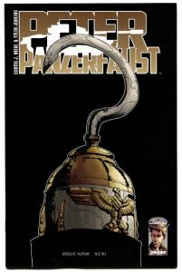 PETER PANZERFAUST #9 comic book-KAPITAN HAKEN-KEY ISSUE-IMAGE-NM-