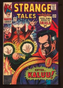Strange Tales (1951 series) #148, Fine- (Actual scan)