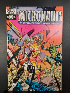 Micronauts #44 (1982)