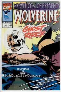 MARVEL COMICS PRESENTS #65, NM+, Wolverine, Ghost Rider, more MCP in store