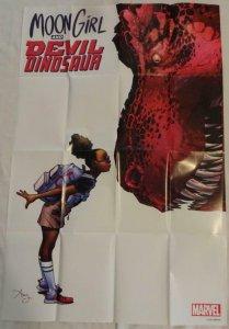 MOON GIRL AND DEVIL DINOSAUR Promo Poster, 24 x 36, 2015, MARVEL, Unused 150