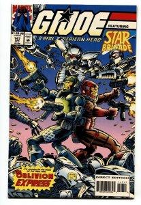 G.I. JOE #147 1994- late issue low print run- Snake Eyes NM-