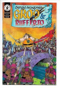 Sergio Aragones Groo & Rufferto #2 (Dark Horse, 1999) VF/NM