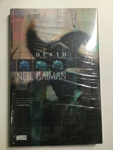 Death Deluxe Edition Neil Gaiman Tpb Hardcover Hc Near Mint Nm Vertigo