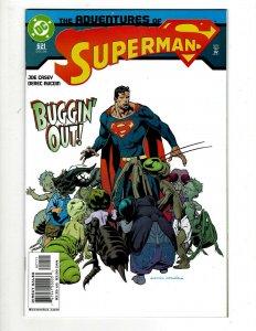 Lot of 12 Superman Comics #621 622 623 624 625 626 627 628 629 630 631 632 GK38