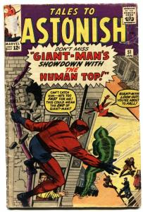 Tales to Astonish #51-WASP-GIANT-MAN-1964-Jack Kirby - Marvel G/VG