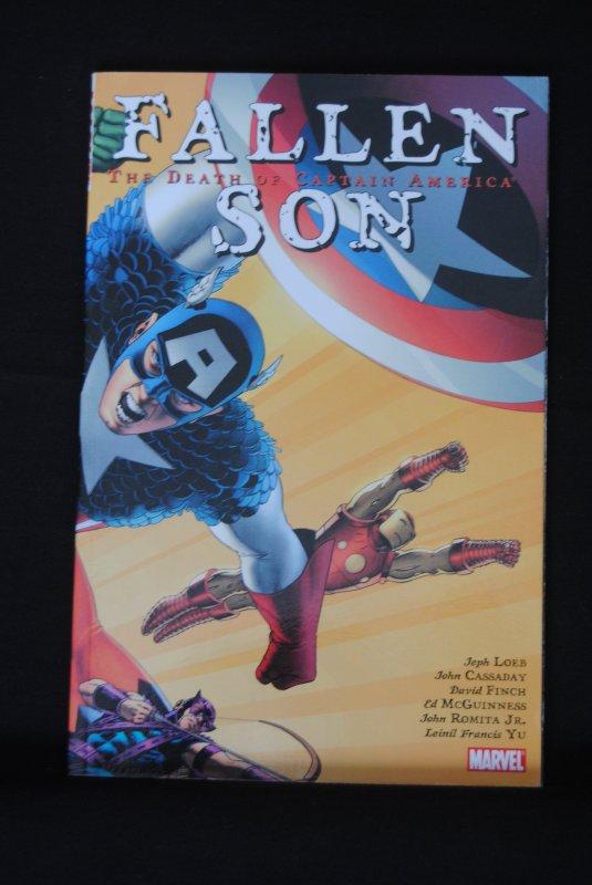 Fallen Son,The Death of Captain America, TPB
