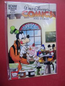 WALT DISNEY'S COMICS & STORIES #721  FIRST PRINT  SUBSCRIPTION  VARIANT COVER