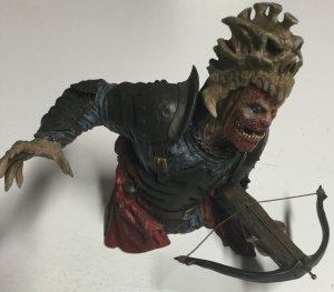 Evil Ash Statue Bust No Box Slightly Damaged Diamond Select Toys