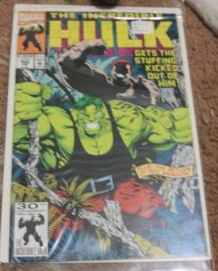 Incredible Hulk  # 402 (Feb 1993, Marvel) doc samson, juggernaut x men**