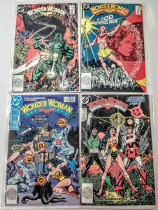 Wonder Woman vol 2 Comic Book Lot of (4) DC