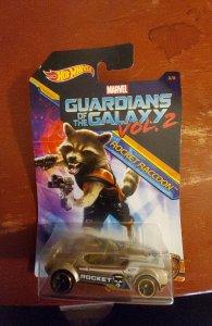 Marvel guardians of the Galaxy vol. 2 rocket raccoon  hot Wheels car