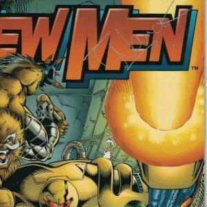 Newmen #7 VF signed by Todd Nauck + Nathan Lumm - Image Comics 1994
