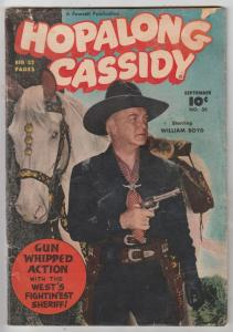 Hopalong Cassidy #35 (Sep-49) VG- Affordable-Grade Hopalong Cassidy