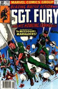 Sgt. Fury #164, VG+ (Stock photo)