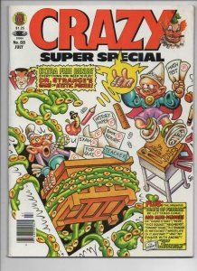 CRAZY #88 Magazine, VF, Dr Strange, Super Special, 1973 1982, more in store