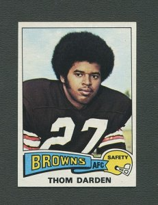 1975 Topps Football /  Thom Darden #342 /  NM-MT