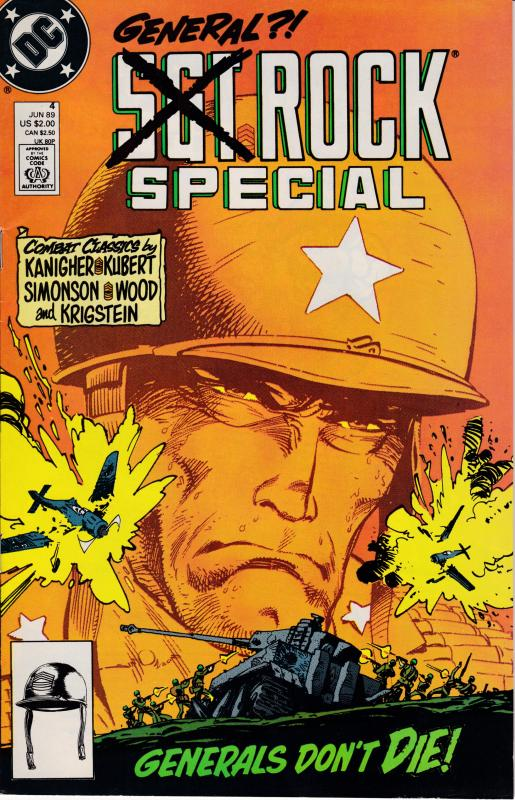 Sargent Rock Nr.4 Jun. '89 General Rock Special  VF Clean