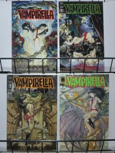 VAMPIRELLA MORNING IN AMERICA (1991 DH) BKs 1-4  KALUTA