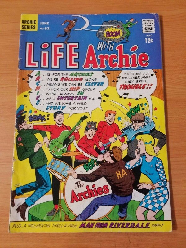 Life with Archie #62 ~ VERY GOOD - FINE FN ~ (1967, Archie Comics)
