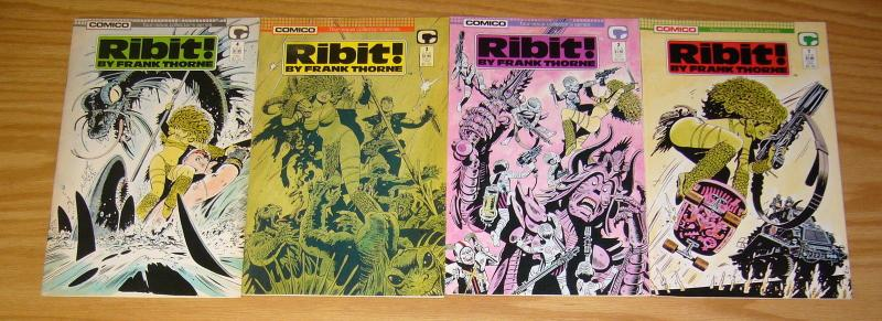 Ribit #1-4 VF/NM complete series - frank thorne - comico bad girl 2 3 set lot