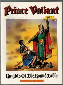 Prince Valiant #3 1990-Fantagraphics-color reprint-Hal Foster-Round Table-VF