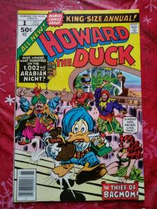 Howard the Duck King-Size Annual #1 (June 1977, Marvel)