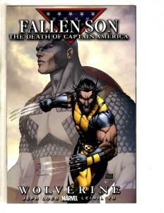4 Captain America Comics Fallen Son Wolverine Dead 1 Sentinel Liberty 1 2 JD2