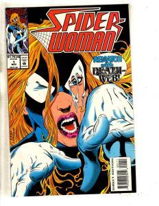 10 Marvel Comics Spider-Woman # 1 2 3 4 + Sp Girl # 7 8 13 14 15 Annual 99' CR59