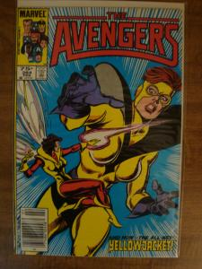 Marvel Comics The Avengers #264 FN+ New YellowJacket NM