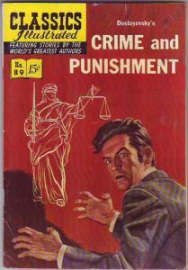 Classics Illustrated #89 (Nov-51) GD/VG- Affordable-Grade