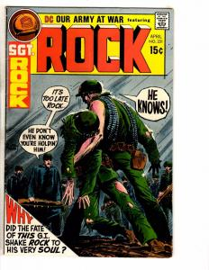 Our Army At War # 231 VG/FN DC Comic Book Feat. Sgt. Rock Navy Marines War J250