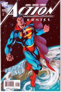Action Comics # 840, 841,842