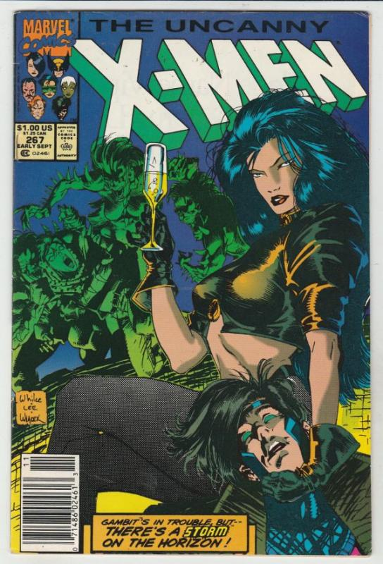 X-Men #267 (Sep-90) VF/NM High-Grade X-Men