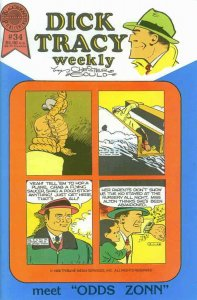 Dick Tracy Weekly #34 FN; Blackthorne   save on shipping - details inside